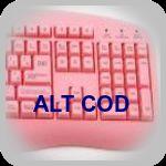 Alt cod символи за блог
