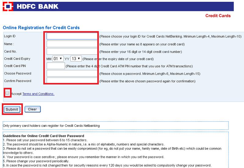 axis bank credit card netbanking login