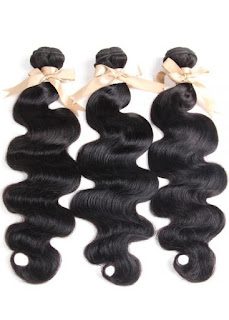 REMY HAIR丨3 BUNDLES BODY WAVE丨NATURAL BLACK
