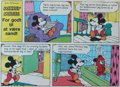 Nadal dibujó a Mickey Mouse (Disney)