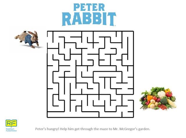 Peter Rabbit Activity Pages, Beatrix Potter