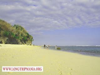 Tempat Wisata Pantai Karma Kandara Bali Selatan