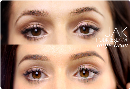 Alina Rose Blog Kosmetyczny Jak Podkreślać Brwi Dwa Sposoby