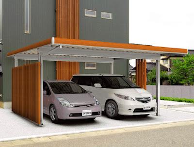 カーボード 自宅 自動車 屋根