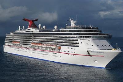 Carnival Cruises Carnival Miracle - 2017 Unique West Coast - Alaska Cruise