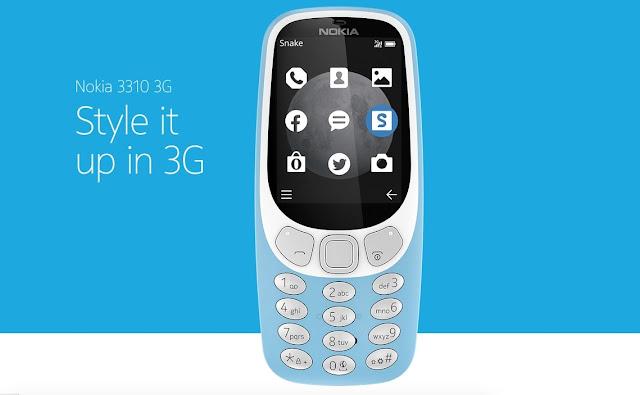 Nokia 3310 3G new 2017