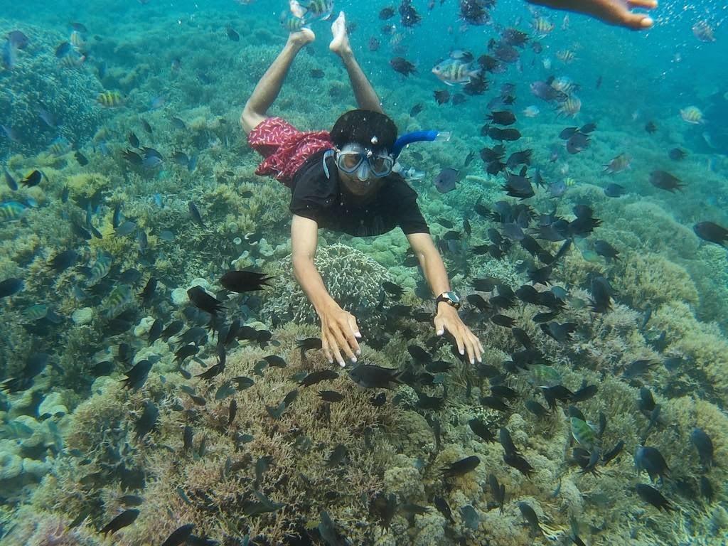 Snorkeling dan Diving di Gili Kondo Lombok