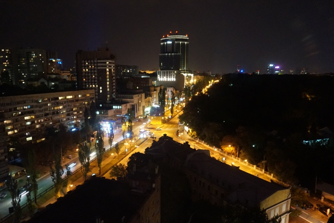 Kokemuksia Kiovasta - mitä tehdä ja minne mennä? Näkymä Ibis Hotel Kiev City Centre