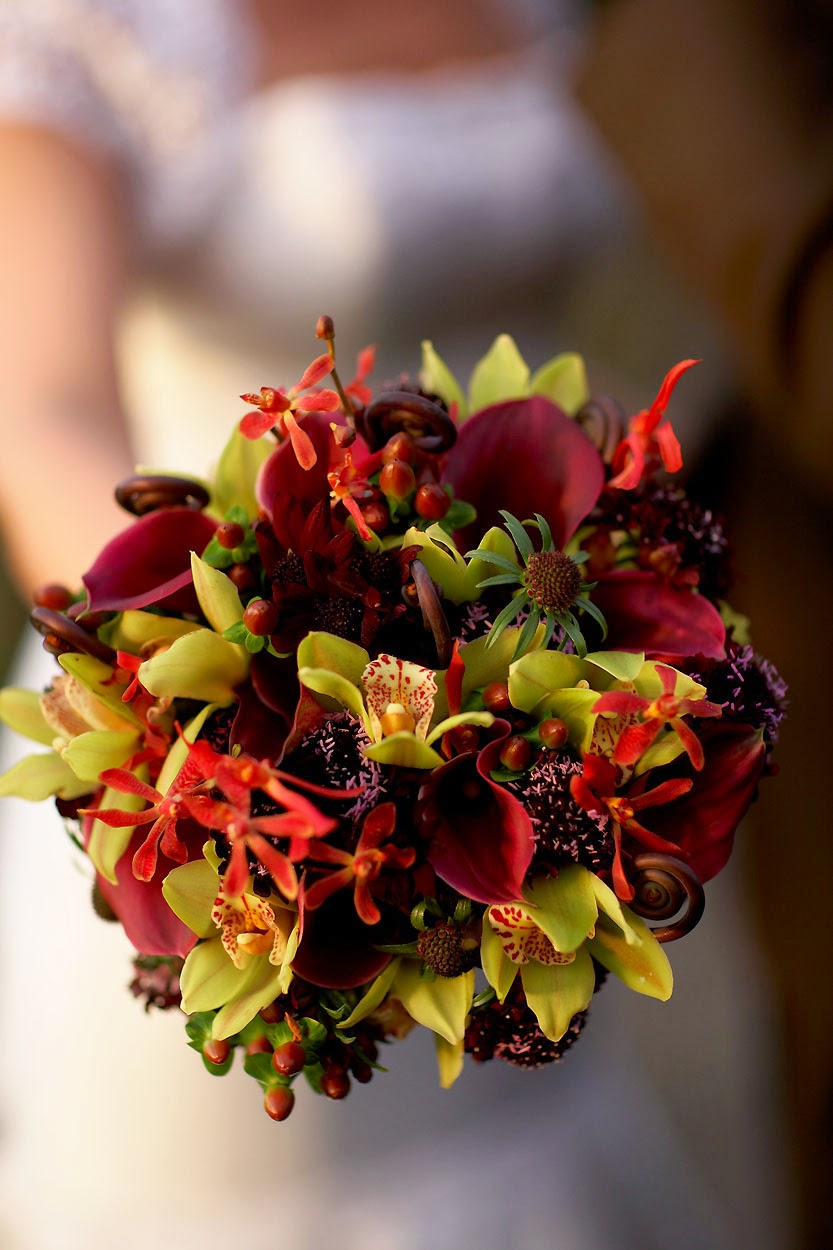 Vibrant Fall Wedding Flowers For Your Wedding