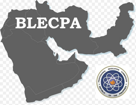 List of Exam Schedule September 2017 BLECPA in Middle East