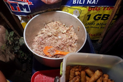 Bakagan Meat is facial meat of the pig boiled for hours