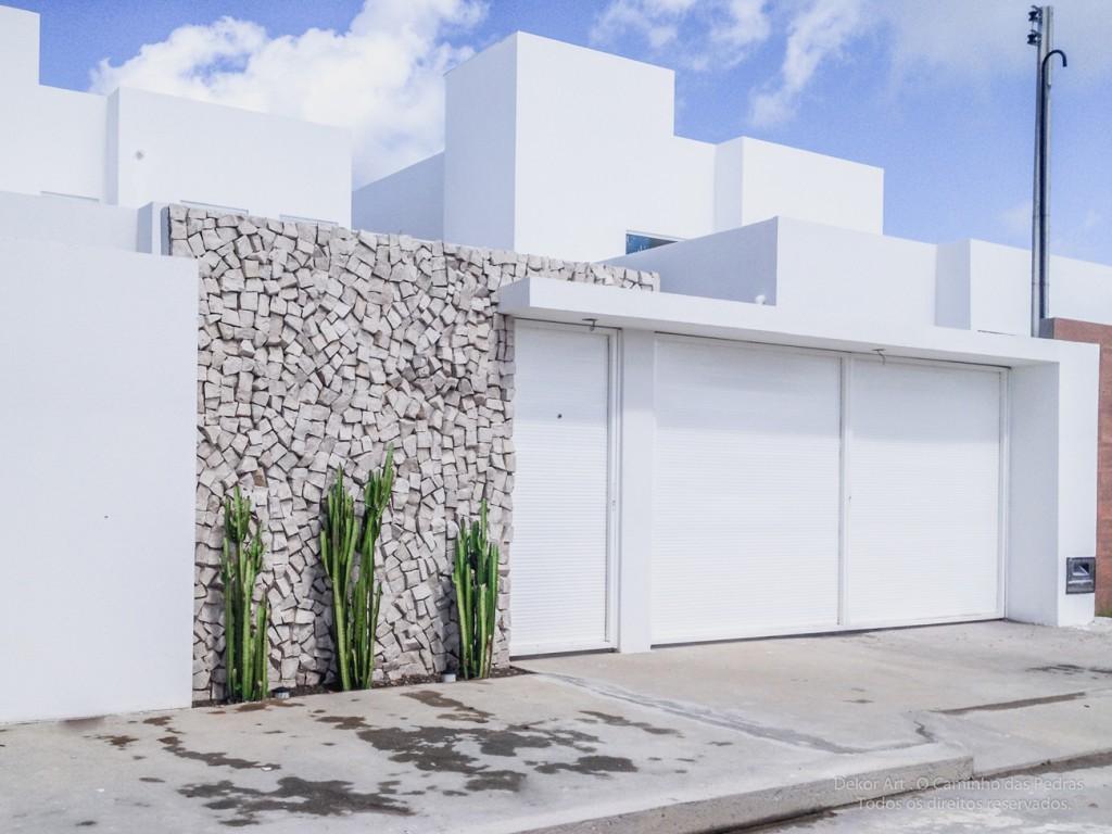 Muros e grades residenciais 25 inspira es modernas - Tipos de muros ...