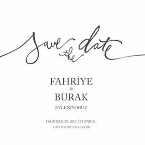 Burak Ozcivit și Fahriye Evcen ~ NE CĂSĂTORIM ~ 29 iunie, 2017. ISTANBUL