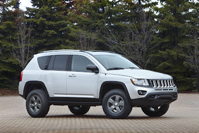 jeep concept cars - compass - 4x4