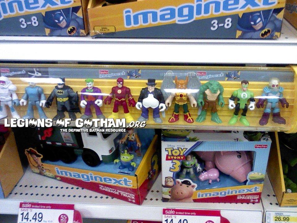 Cool New Batman Imaginext Display At Target Stores