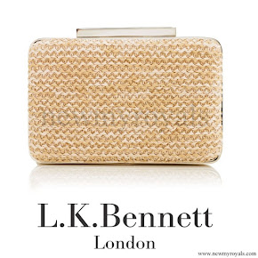 Kate Middleton style L.K. Bennett Natalie Clutch