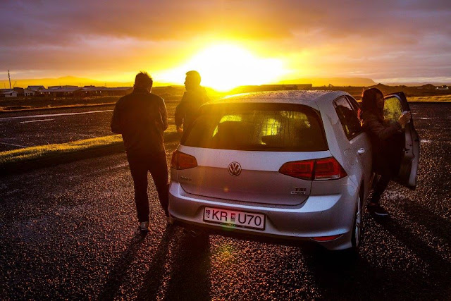 iceland rent car
