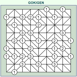 GOKIGEN or Slalom Online (Logical Thinking Brain Game)
