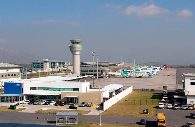 Aerolíneas en el Ecuador Aeropuerto Tababela