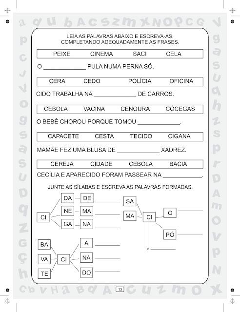 Coleção Ciranda das Silabas Volume 5 para Baixar