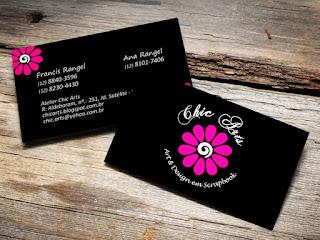 Cartão de visita personalizado 4