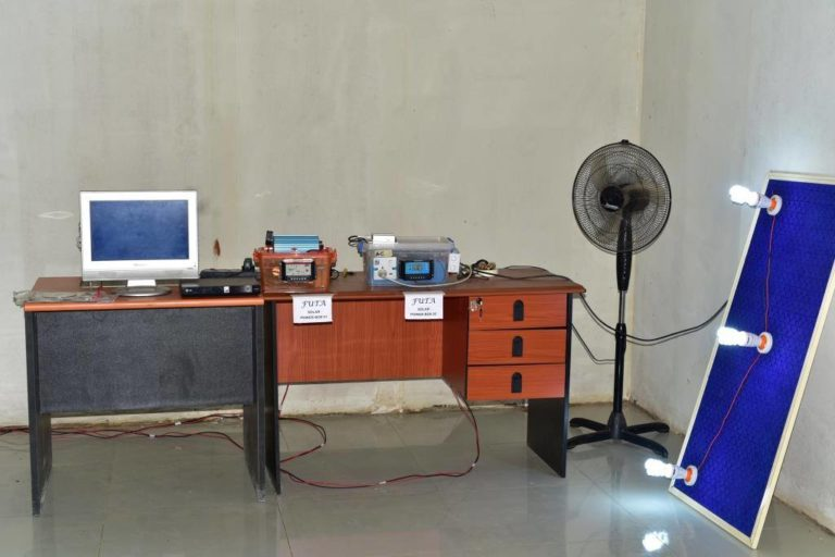 FUTA Develops Solar Powered Generator