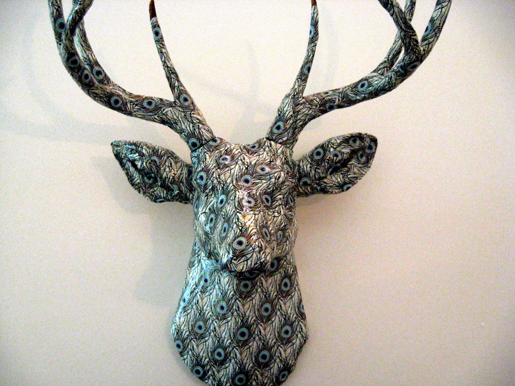 Faux Stag Head Antweak Someone 39s Dear Or Stag On Valentines