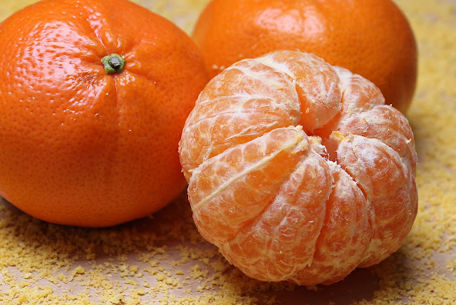 Orange Citrus Fruit For Winter Season HD Wallpaper