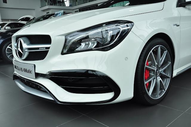 Mercedes AMG CLA 45 4MATIC là kẻ tiên phong trong các dòng xe thể thao