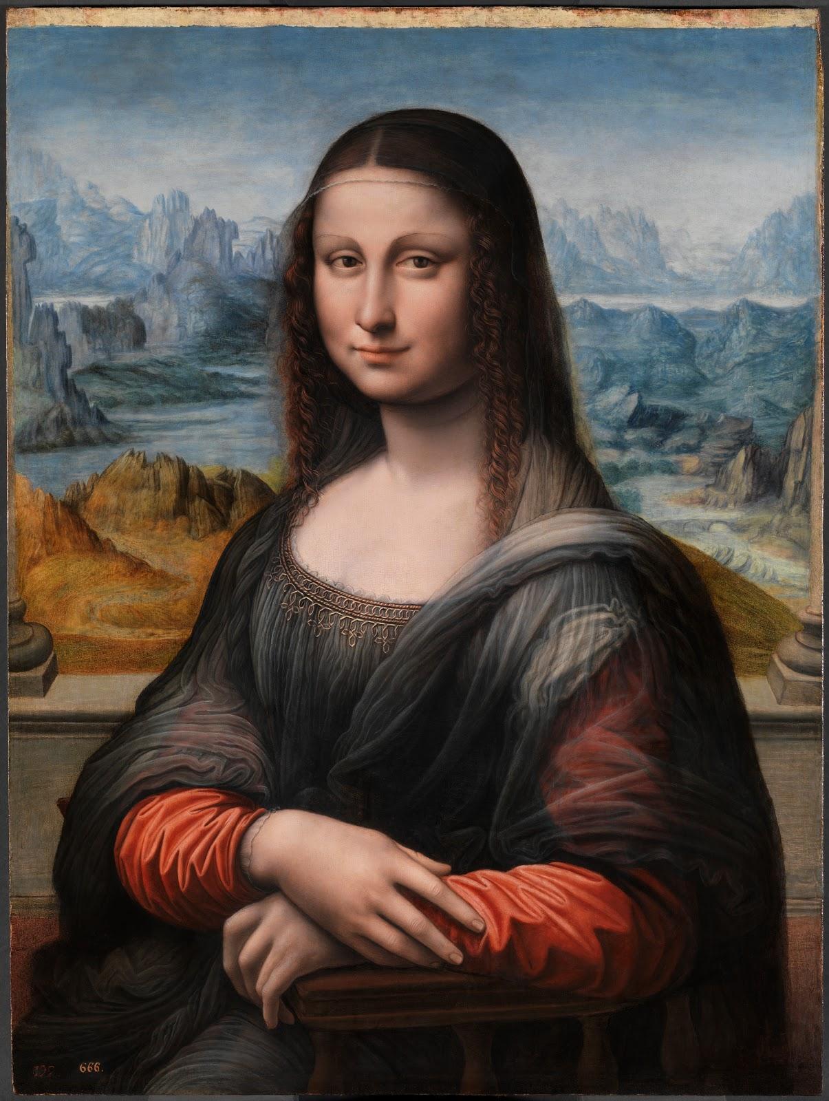 レオナルド・ダ・ヴィンチの弟子が描いたモナリザ