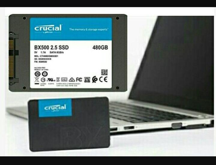 480GB SSD SATA - Crucial BX500 Computer Storage Drive