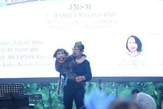 Kak Tony Mendongeng di acara FMD JMSM One Bel Park