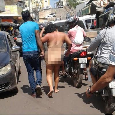 Após flagrar traição, homem mata idoso e arrasta a companheira pelada pelas ruas de Pedreiras