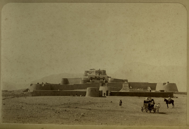 Fort Jumrood at Entrance to Khyber Pass - c1880's
