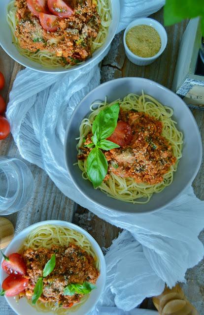 Spaghetti Bolognaise Facile et Végétalien / Vegan Bolognese Spaghetti