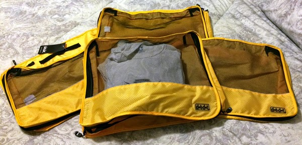 The Dot & Dot Small Yellow Packing Cubes