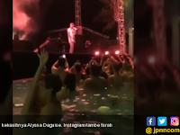 Astaghfirallah! Video AL Pesta Dengan Pacar di Kolam Renang, Netizen: Mirip Neraka