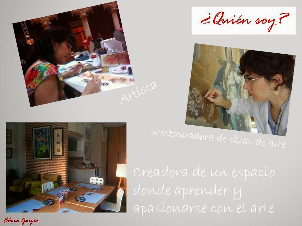 Elena Garzia estudio de bellas artes