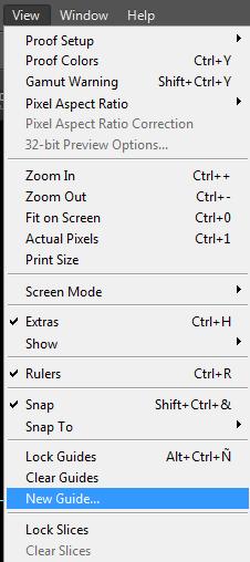 Cara Membuat Garis Bantu Di Photoshop : membuat, garis, bantu, photoshop, Membuat, Guides, (Garis, Bantu), Photoshop, DenisArtLantis