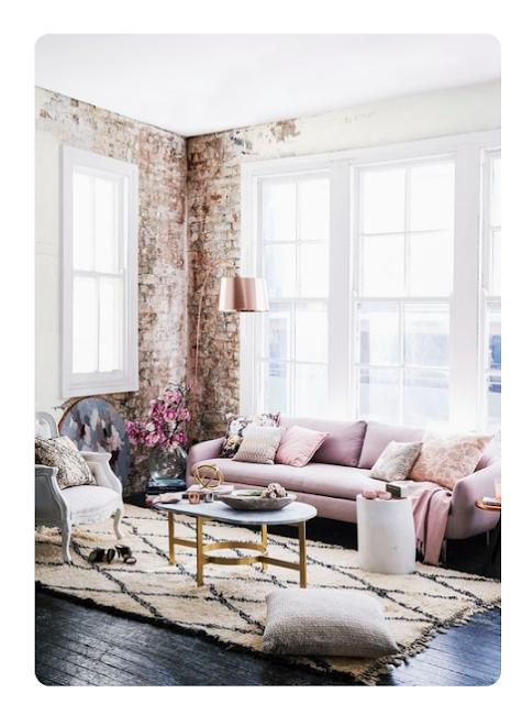 romantic industrial home decor inspo