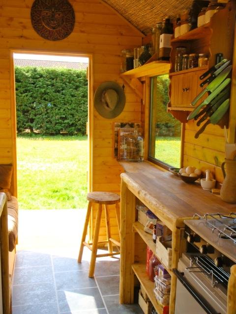 Handmade Matt Kitchen and Bathroom Wagon  Off Grid