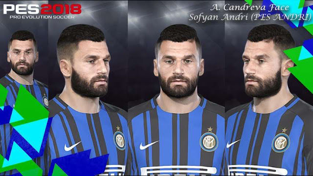 Antonio Candreva Face PES 2018