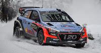 En sportif Hyundai i20 wrc