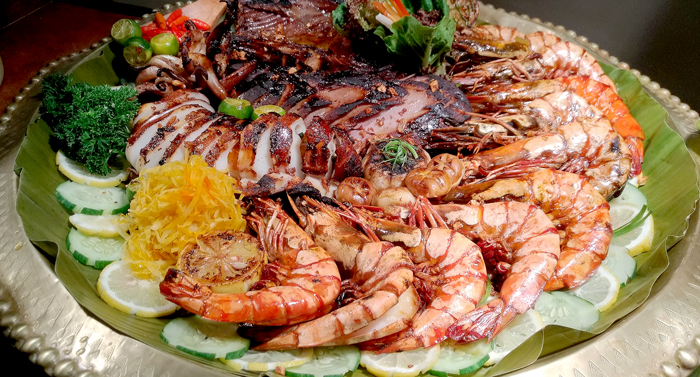 Grilled Fresh Seafoods