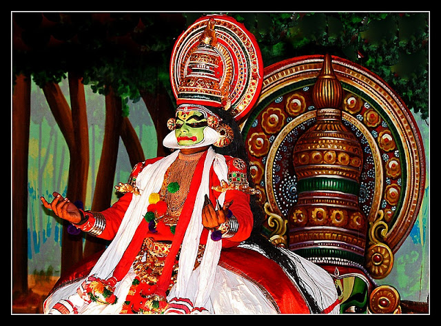 Kathakali dance in Kerala culture