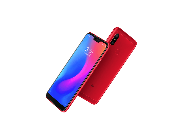Xiaomi launches Redmi 6 Pro and Mi Pad 4 launch in China