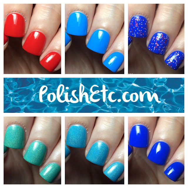 Cirque Colors - Nordstrom exclusive Poolside Collection - McPolish