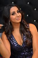 Sanjana looks happy in sparkling short Deep neck Purple Gown ~  Exclusive 81.JPG
