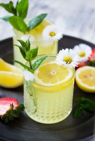 Sparkling Limoncello Cocktail