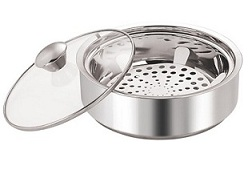 Nano Nine Rio Chapati Pot Stainless Steel Casserole (1150 ml) worth Rs.657 for Rs.299 @ Flipkart
